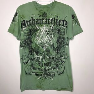 Archaic by Affliction distressed tee